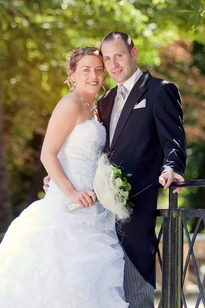 photographe mariage lorraine couple parc nature