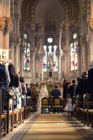 photographe mariage lorraine eglise choeur