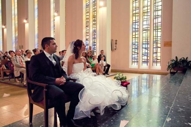 photographe mariage lorraine eglise moderne