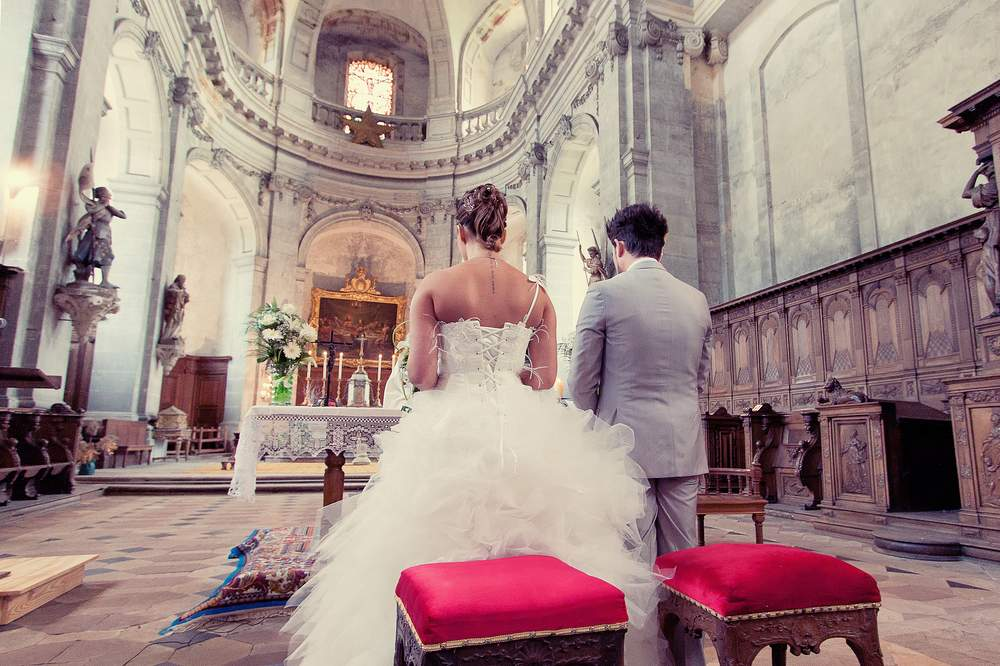 photographe mariage lorraine grande eglise