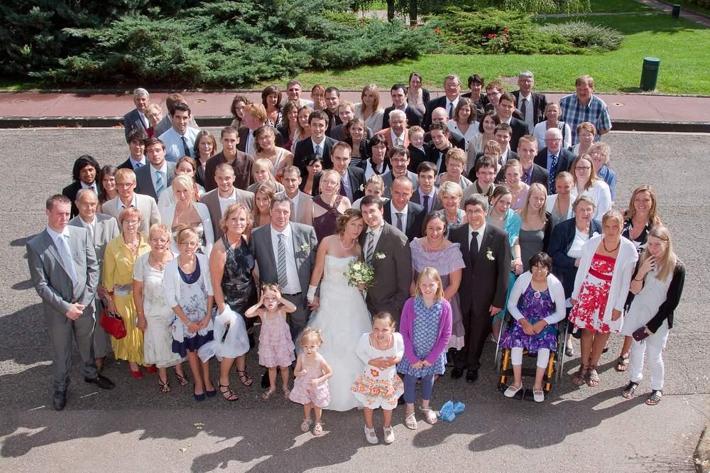 photographe mariage lorraine photo de groupe