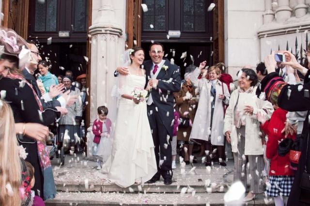 photographe mariage lorraine sortie d eglise