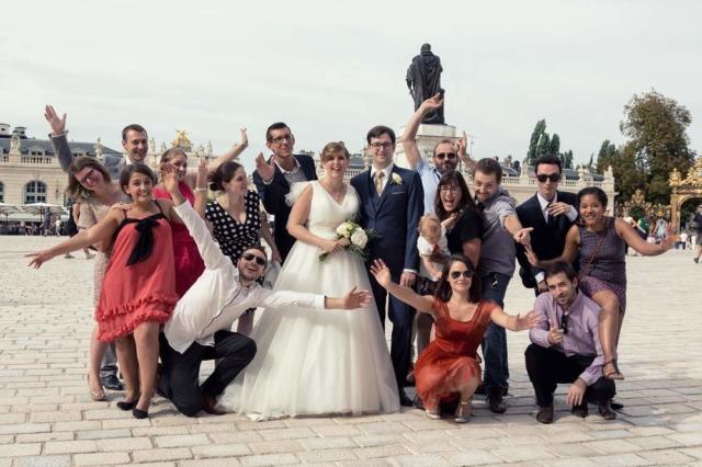 photographe mariage nancy amis place stan