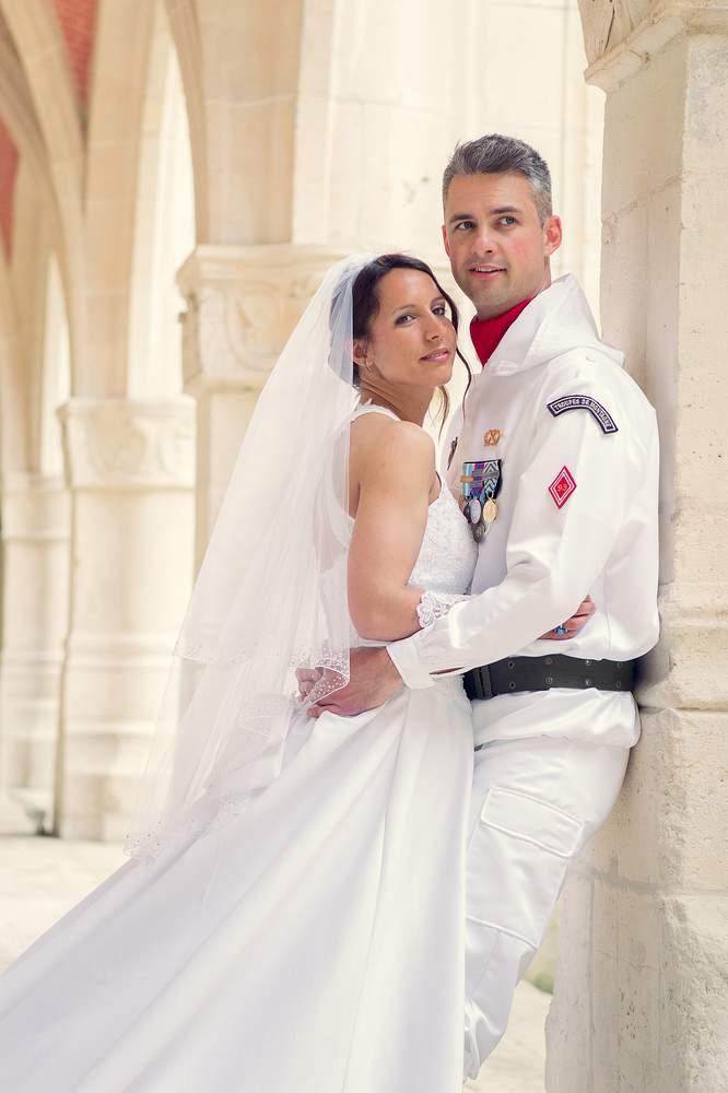 photographe mariage nancy couple militaire