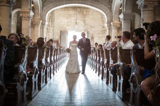 photographe mariage nancy entree dans l eglise
