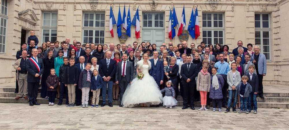 photographe mariage nancy photo de groupe