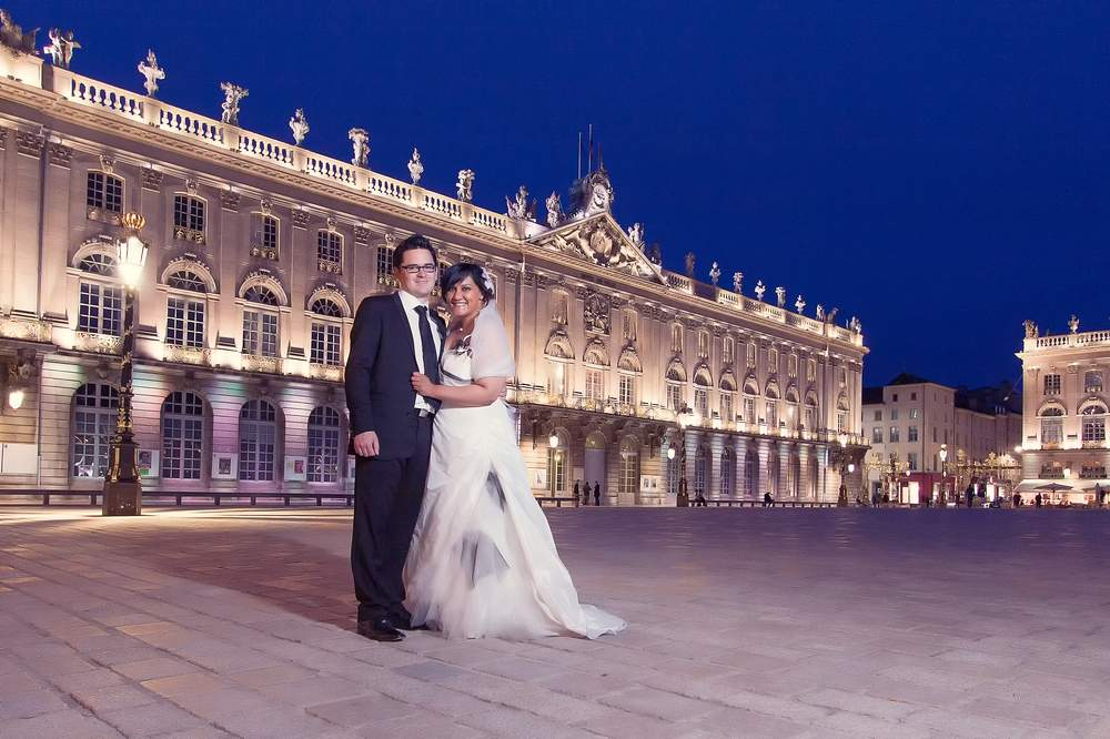 photographe mariage nancy place stanislas