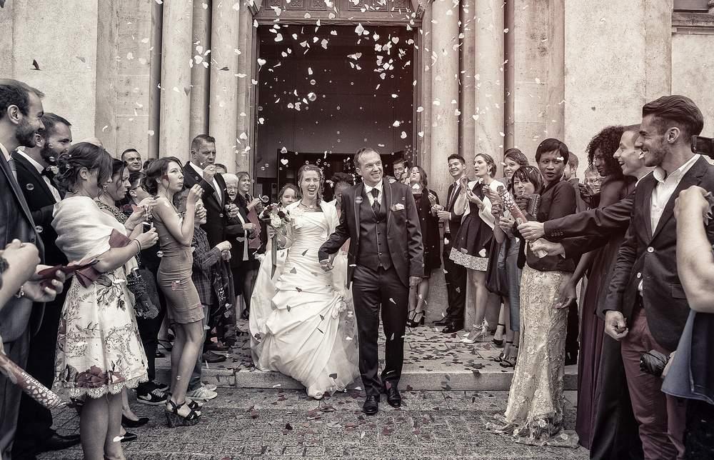 photographe mariage nancy sortie d eglise