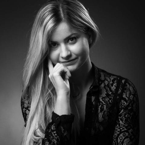photographe nancy portrait retro noir et blanc anne