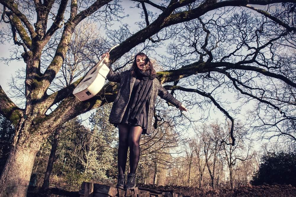 photographe portrait exterieur nancy musique camille