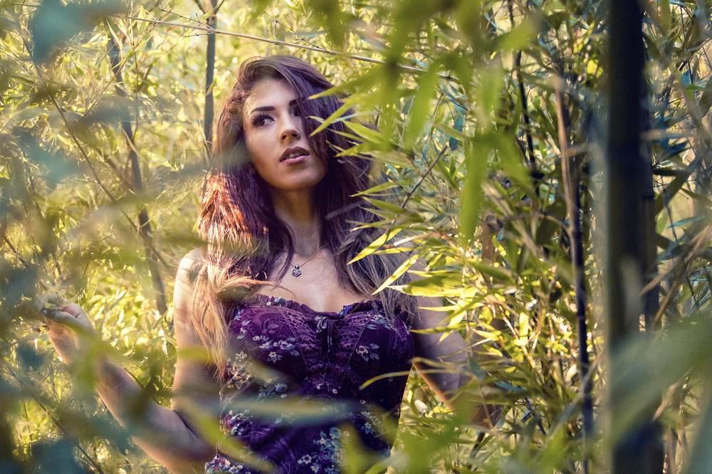 photographe portrait exterieur nancy ombre jardin jessica