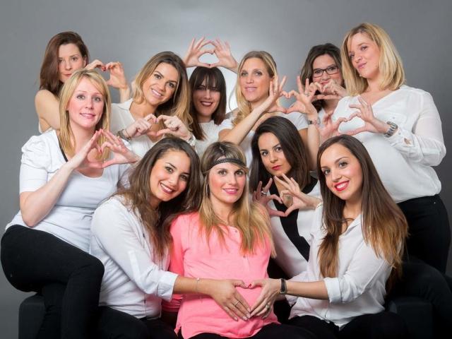 photographe nancy evjf baby shower en studio