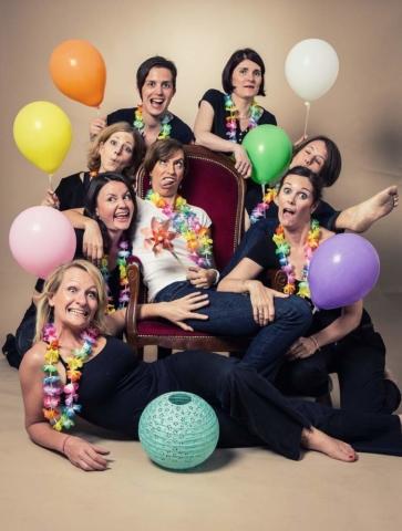 photographe nancy evjf ballons en studio