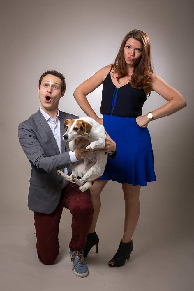 studio photographe nancy couple et chien